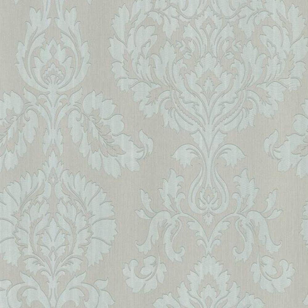 Fine Decor Classics Large Damask Wallpaper Taupe Fd20331