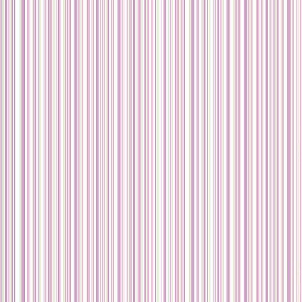 Coloroll Martez Stripe Wallpaper Lilac M0851 Wallpaper