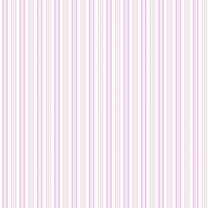 Coloroll Poppet Stripe Wallpaper Pink (M0723)