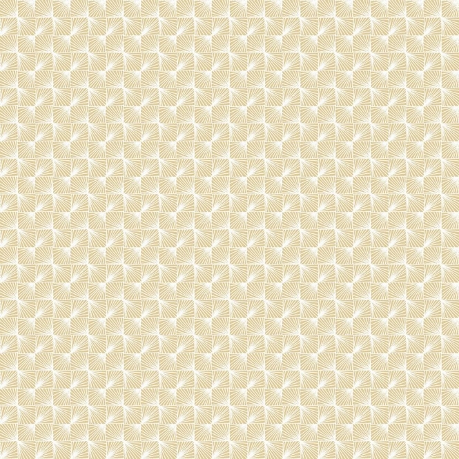 Coloroll Stockholm Geometric Wallpaper Gold