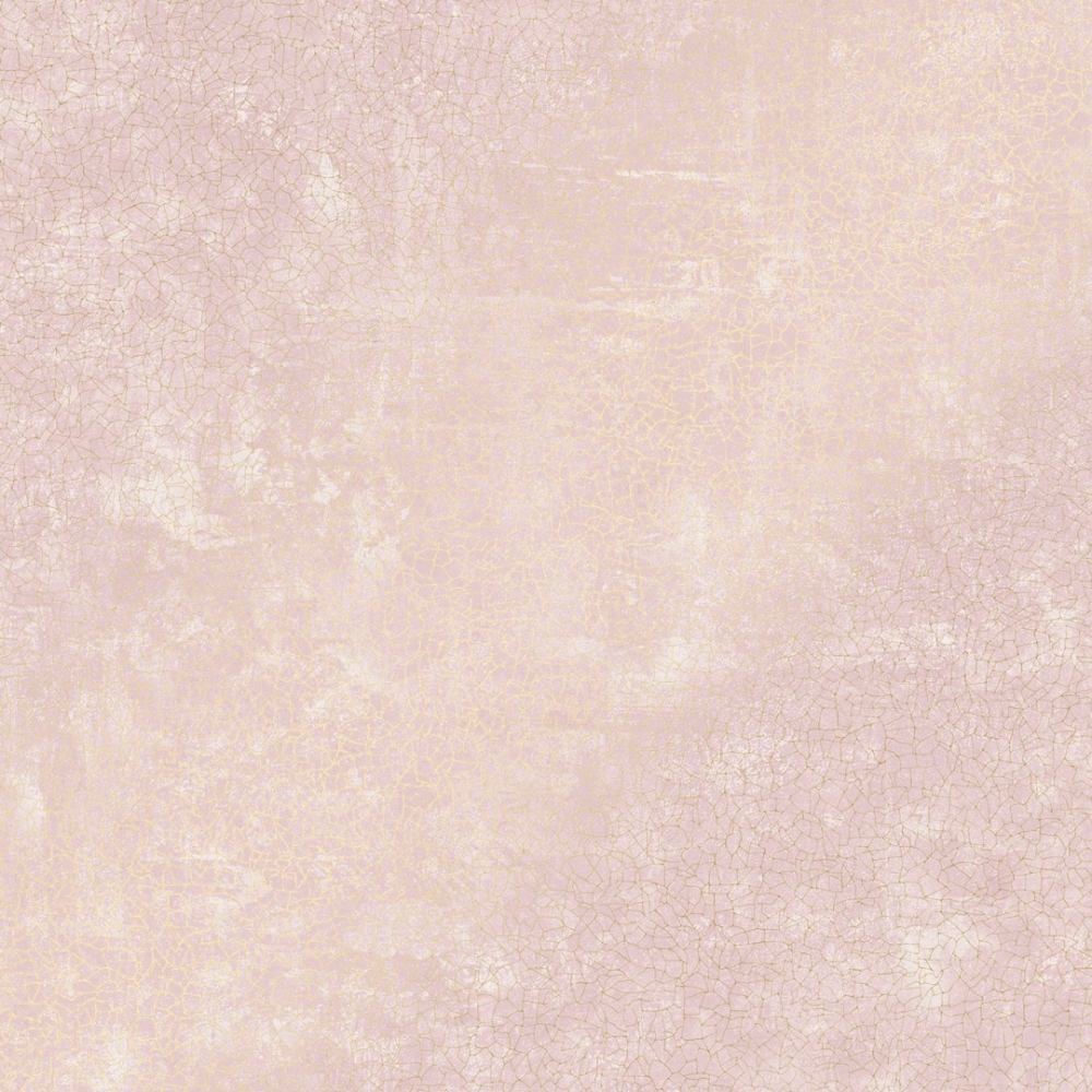 Crackle Wallpaper Pink Gold
