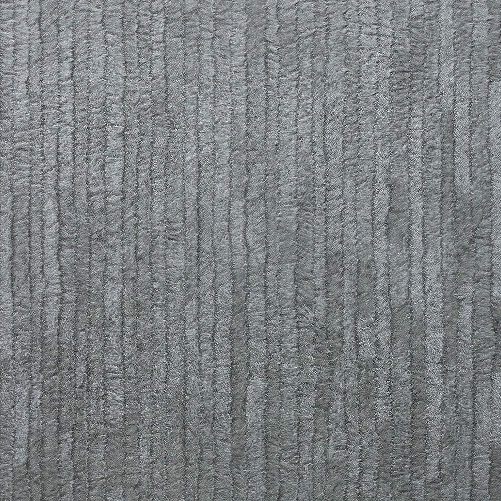 Bergamo Leather Texture Wallpaper Silver Dark Grey M1402