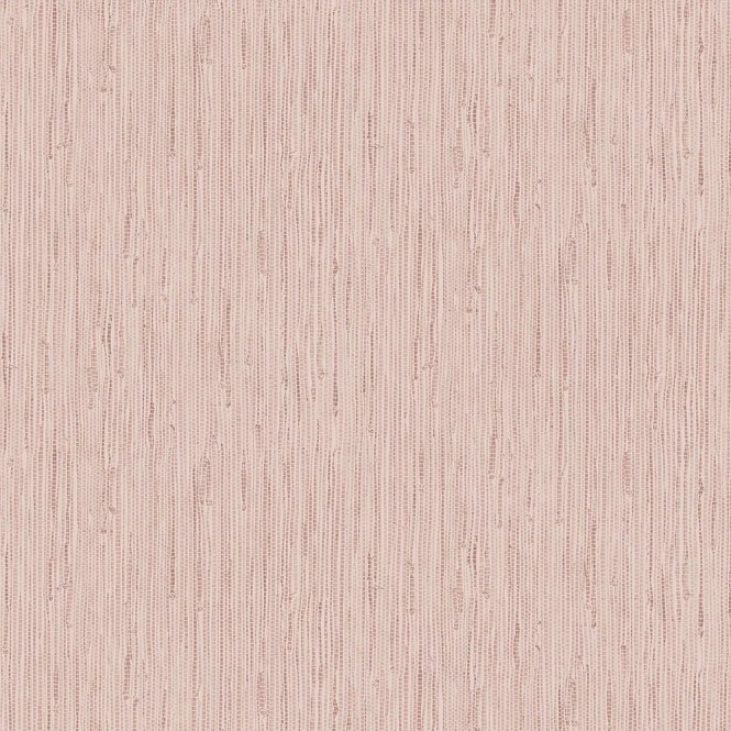 Crown Grasscloth Wallpaper Rose Gold