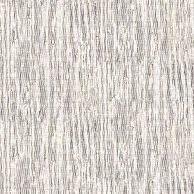 Crown Grasscloth Wallpaper Silver Gold
