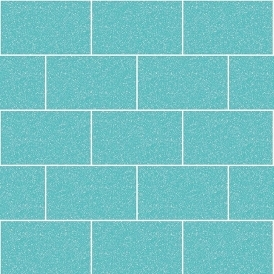Crown London Tile Wallpaper Aqua