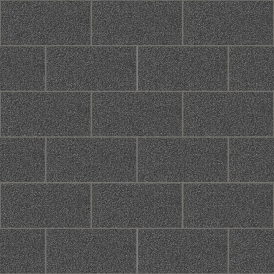 Crown London Tile Wallpaper Black (M1055)