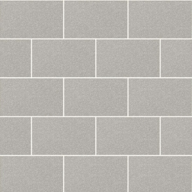 Crown London Tile Wallpaper Grey Mist
