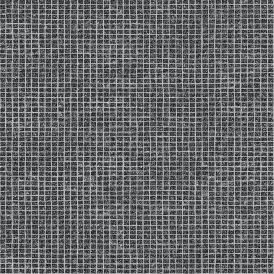 Crown Mosaic Tile Wallpaper Black (M1057)