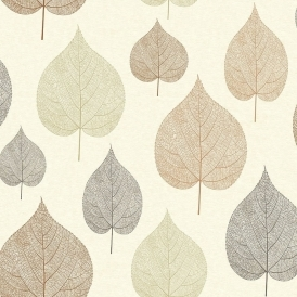 Crown Signature Leaf Wallpaper Russet (M1069)