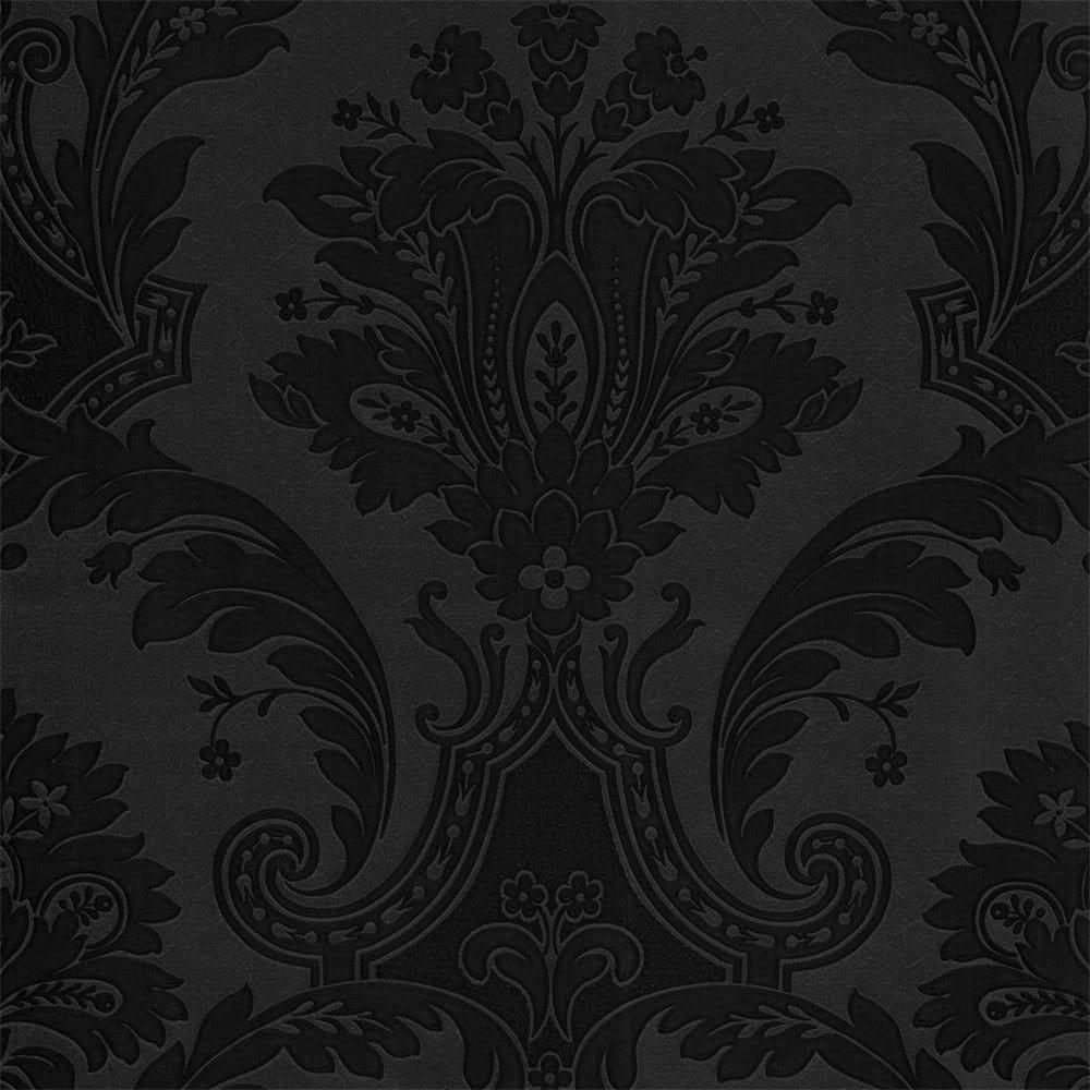 Buy Belgravia Decor Damasco Italiano Black