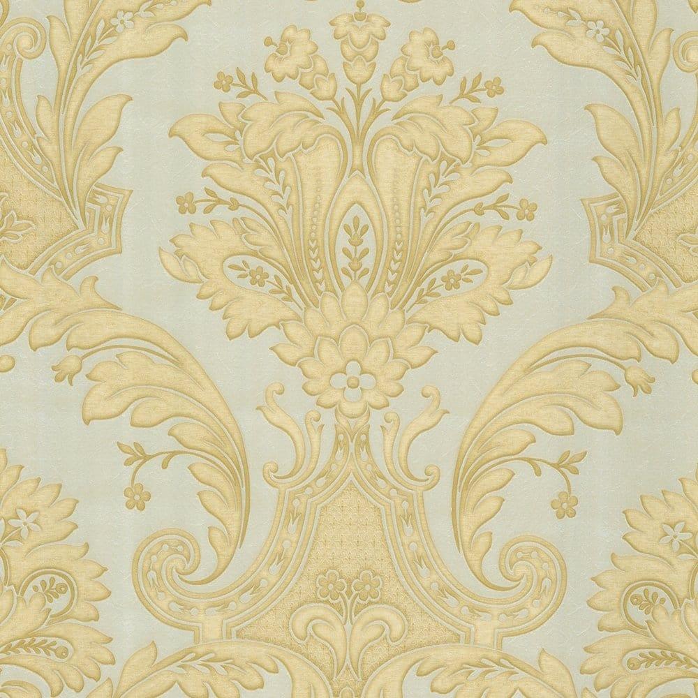 Buy Belgravia Decor Kashmir Wallpaper Gold Taupe