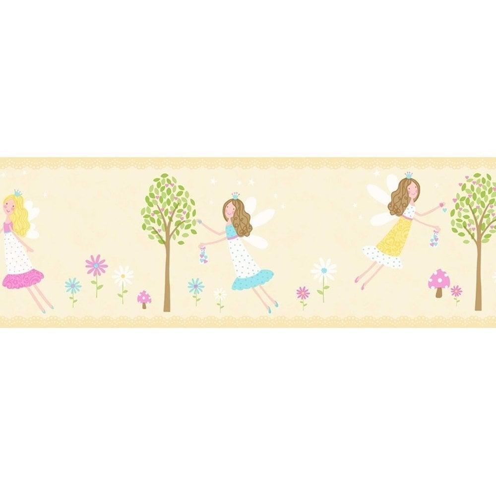 Carousel Fairy Garden Border Yellow DLB50084