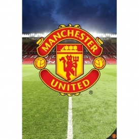 Wall murals buy online at i love wallpaper for Man u bedroom accessories