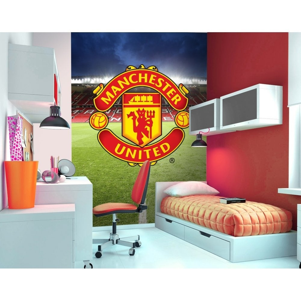 manchester united wall murals
