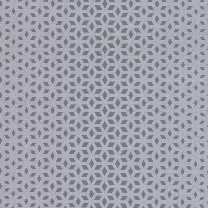 Decorline Vision Lupus Geo Wallpaper Silver / Grey (DL22847)