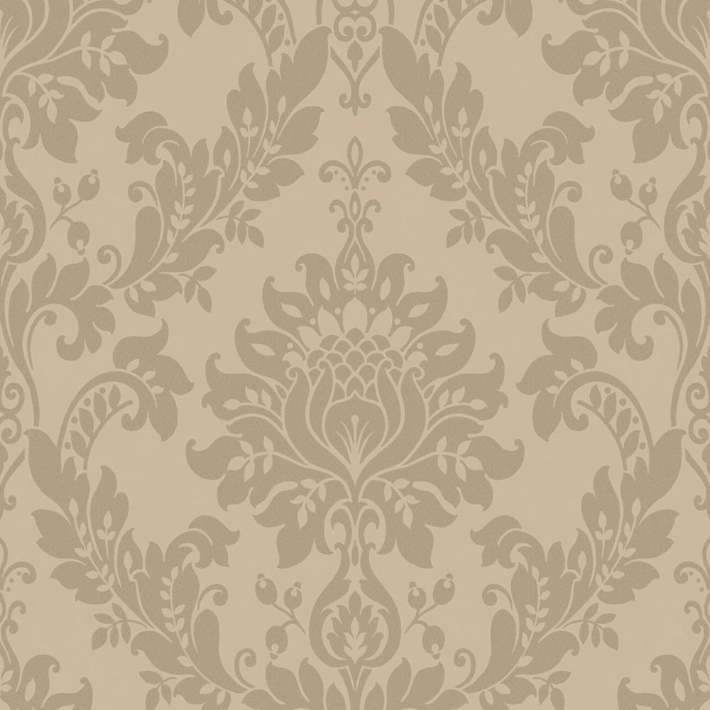 Damask Wall Paper damask printed wallpaper from i love wallpaper