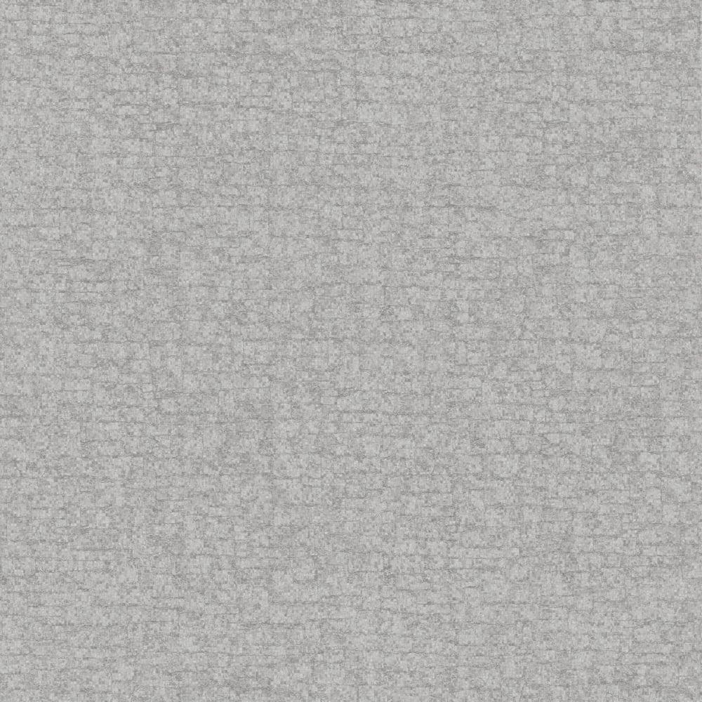 Hadrian Plain Wallpaper Silver 35452