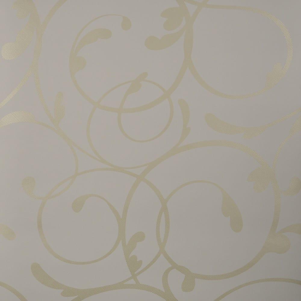 Designer selection elegant scroll wallpaper taupe 677 107 for Elegant taupe paint