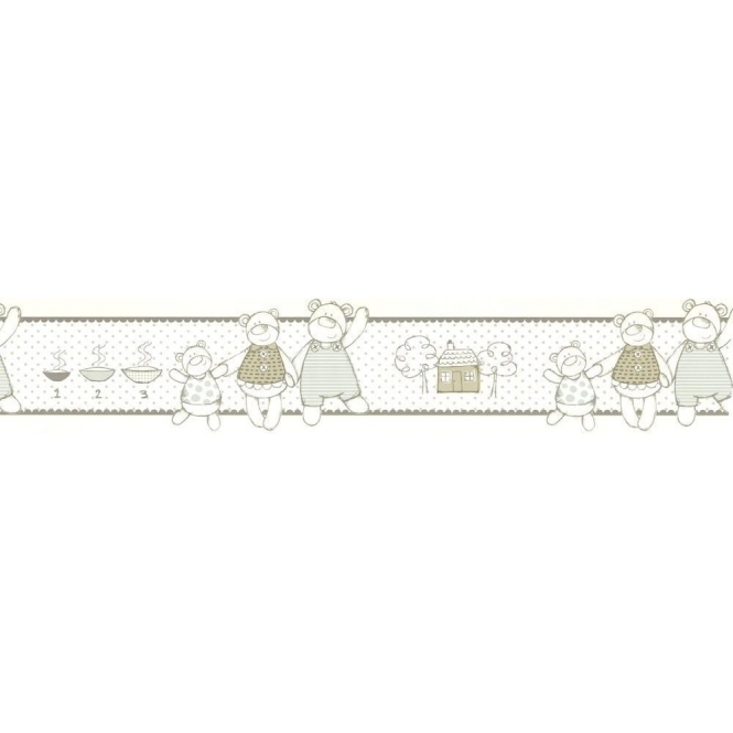 Designer Selection Jack, Lilly & Joe Self Adhesive Wallpaper Border (01429JACK)