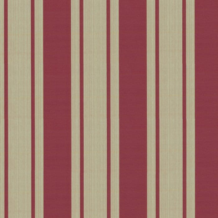 Designer Selection Suede Effect Stripe Wallpaper Red