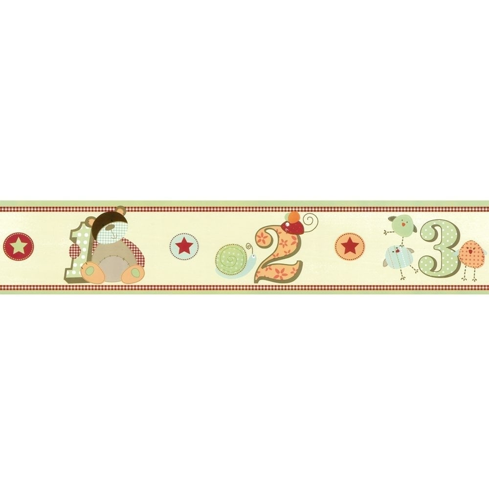 Decorative Wall Paper Trim : Designer selection ziggy and friends self adhesive