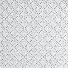 Diamond Texture Wallpaper Grey