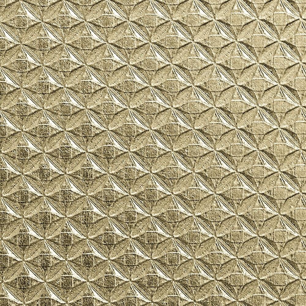 Diamond Texture Wallpaper Metallic Gold