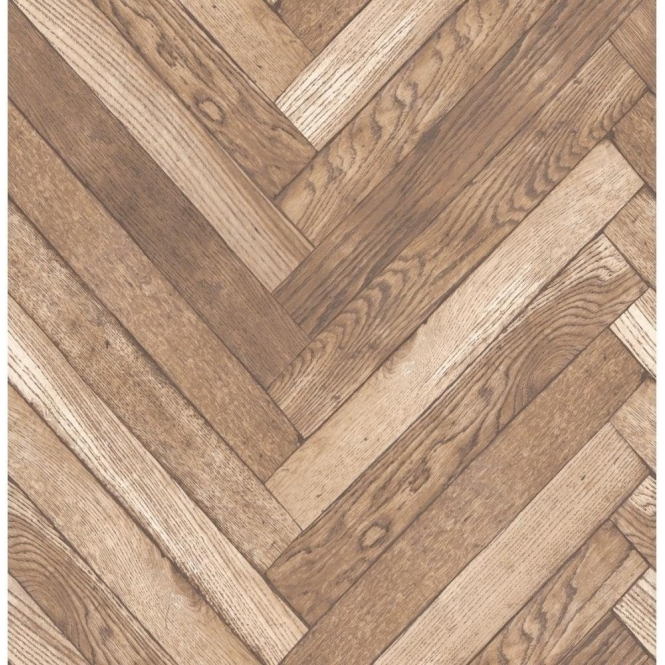 Fine Decor Distinctive Parquet Wood Wallpaper Natural Beige (FD40881)