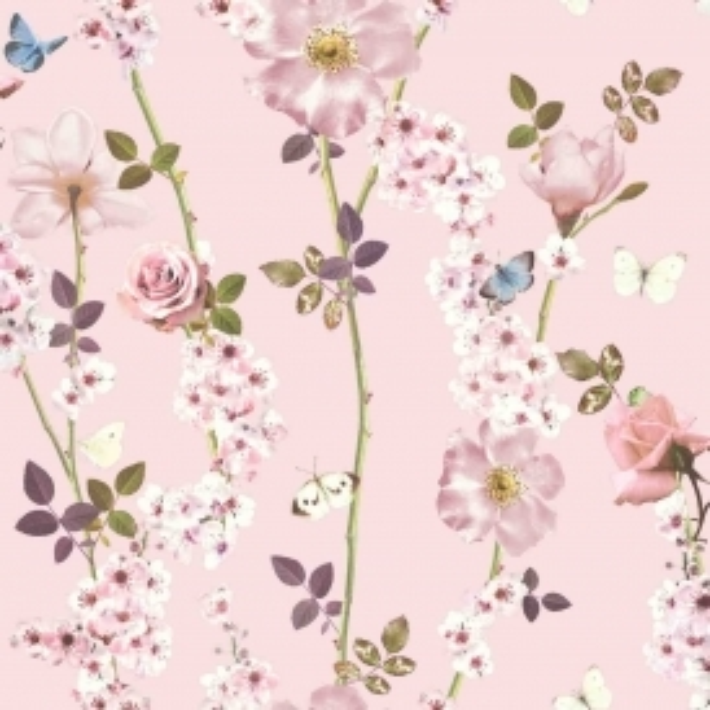 Floral Wallpaper Rose Flower Print I Love Wallpaper