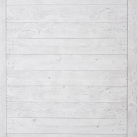Echelle Bois Wood Panel Wallpaper White
