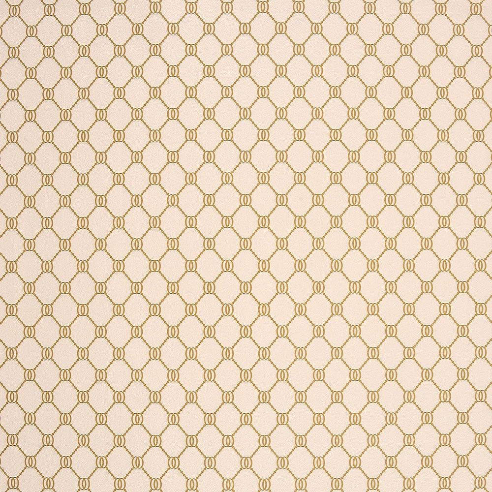 Caselio Elegante Geometric Wallpaper Cream Gold 60512059