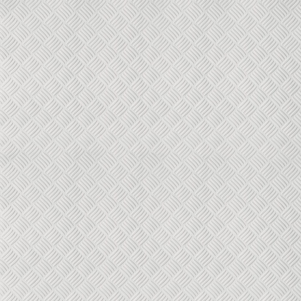 Photo Collection White Paintable Embossed Wallpaper