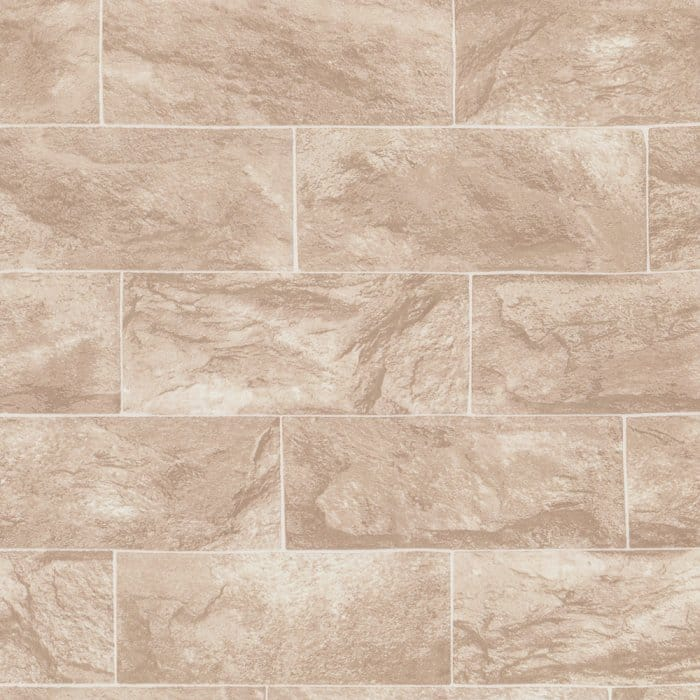 Buy Erismann Brix Sand Brick Effect Wallpaper Beige / cream