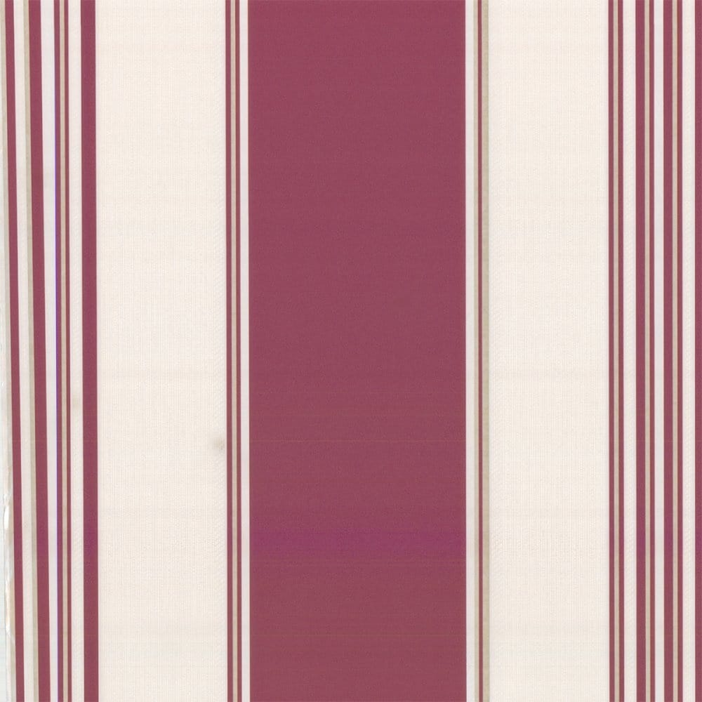 Erismann Regal Stripe Wallpaper Red Cream 9699 06