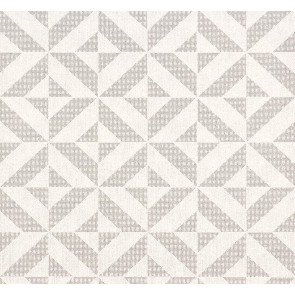 Visio Graphic Wallpaper Grey Silver 6950 10
