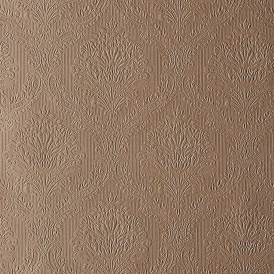 Fabrique Mid Damask / Stria Wallpaper Copper
