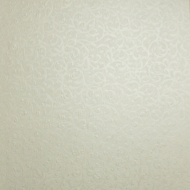 Fabrique Scroll Wallpaper Linen