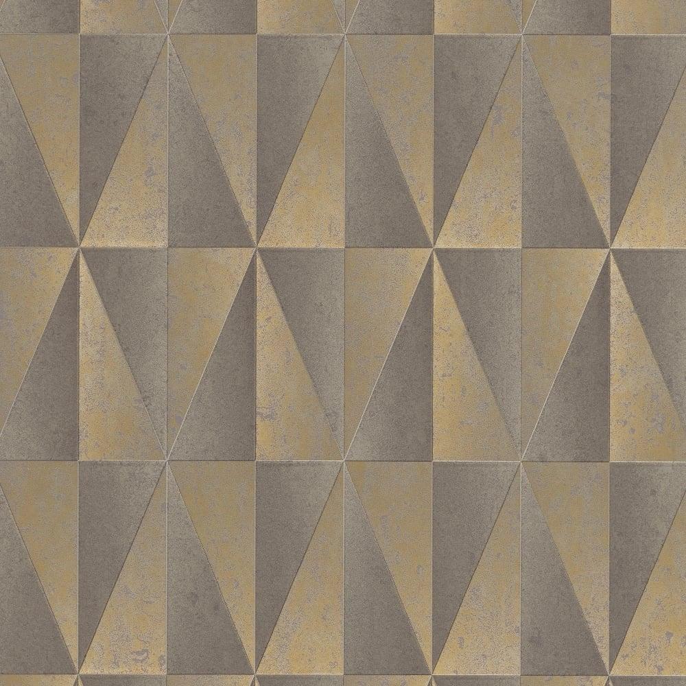 Erismann Fame Patterned Wallpaper Beige Bronze 6936 20