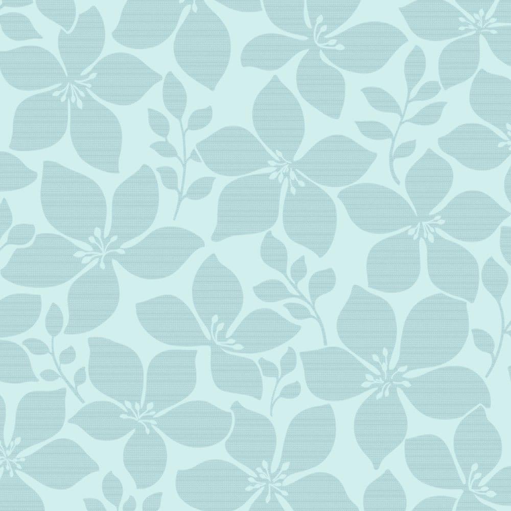 Fine Decor Athena Floral Wallpaper Teal Fd40397