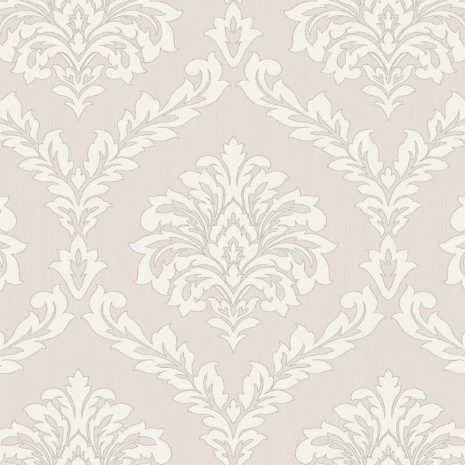 Fine Decor Cavendish Damask Wallpaper Beige (FD40987)