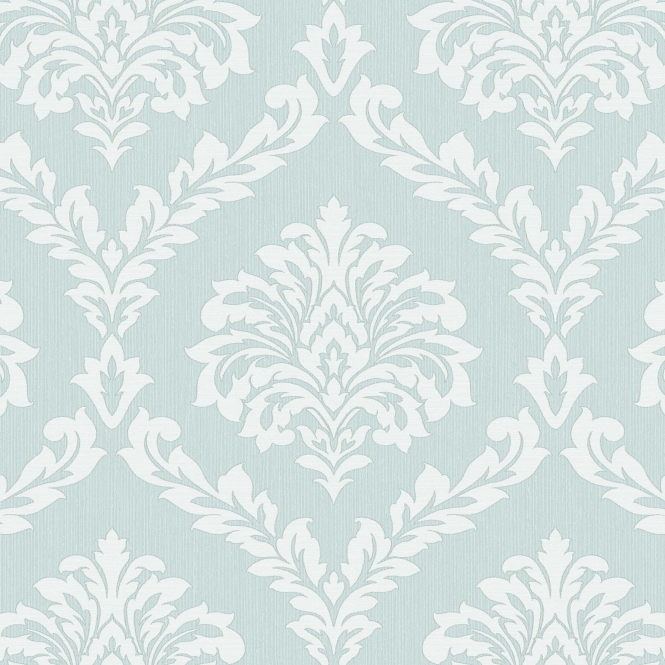 Fine Decor Cavendish Damask Wallpaper Teal (FD40988)