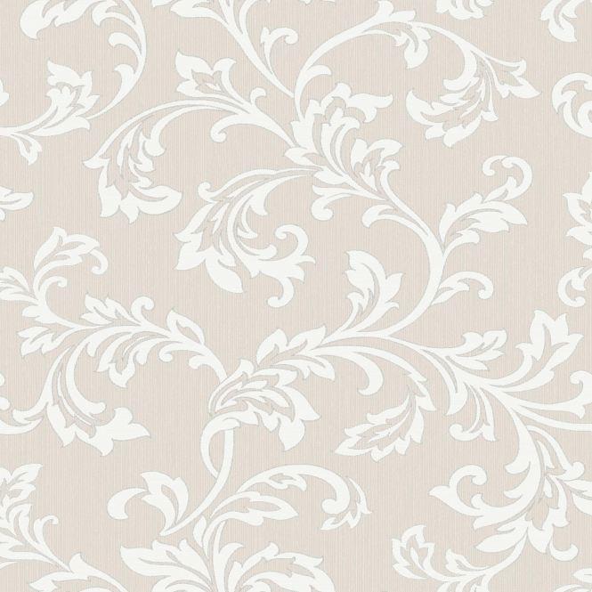Fine Decor Cavendish Floral Wallpaper Beige (FD40991)
