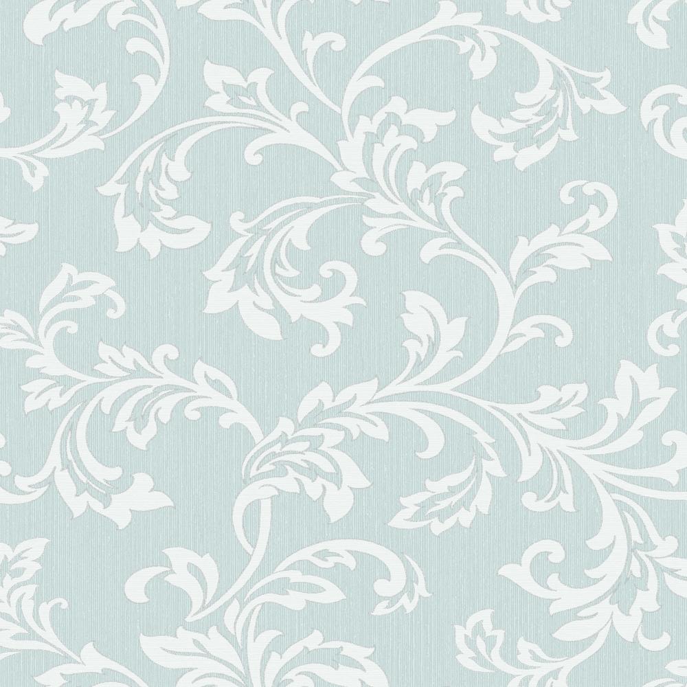 Fine Decor Cavendish Floral Wallpaper Teal Fd40992