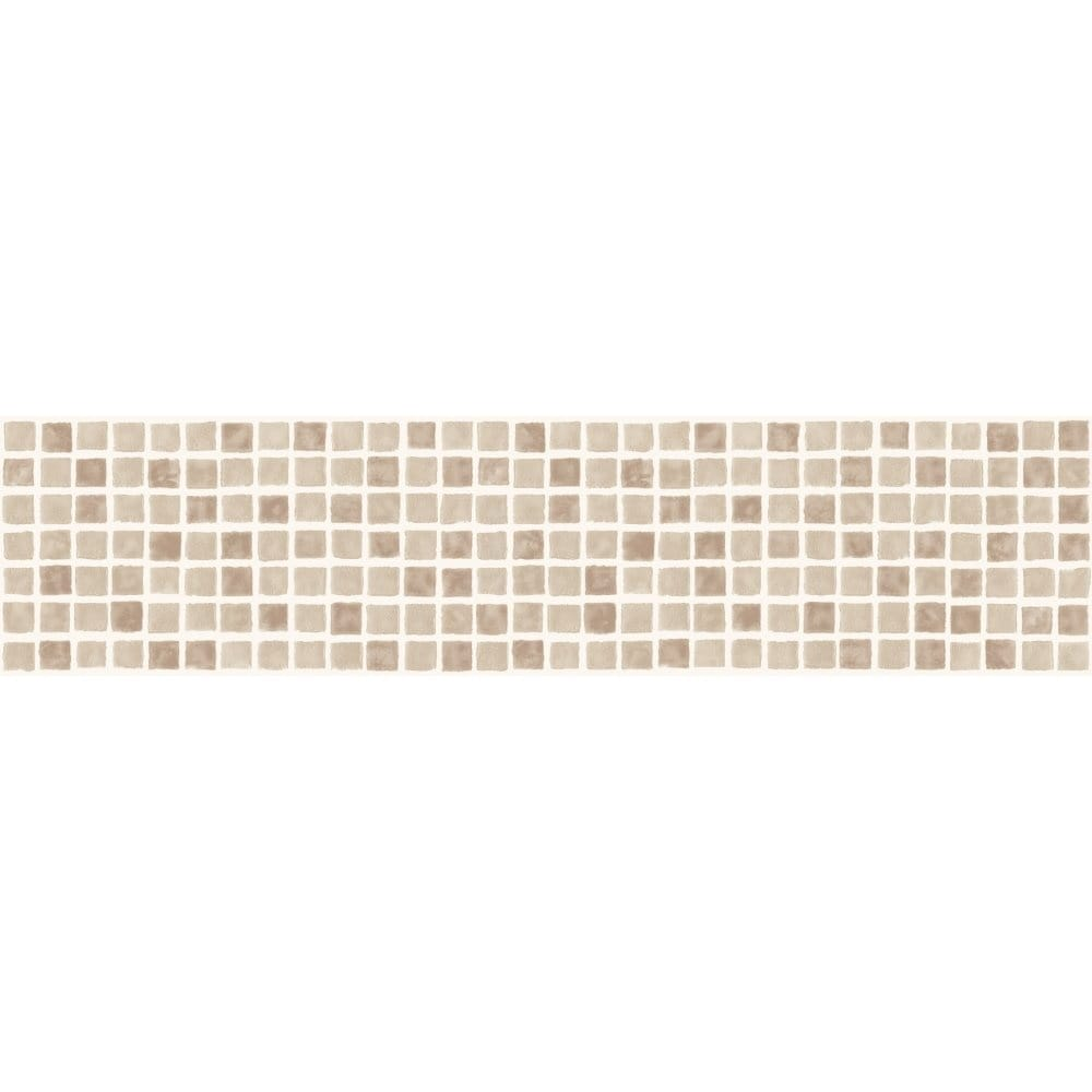 Fine Decor Ceramica Mosaic Tile Self Adhesive Border