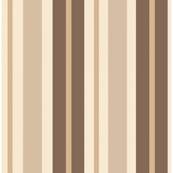 Fine Decor Ceramica Stripe Wallpaper Cream Beige Gold