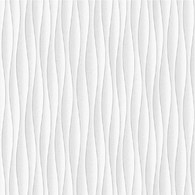 Fine Decor Ceramica Wave Wallpaper White, Silver (FD40133)