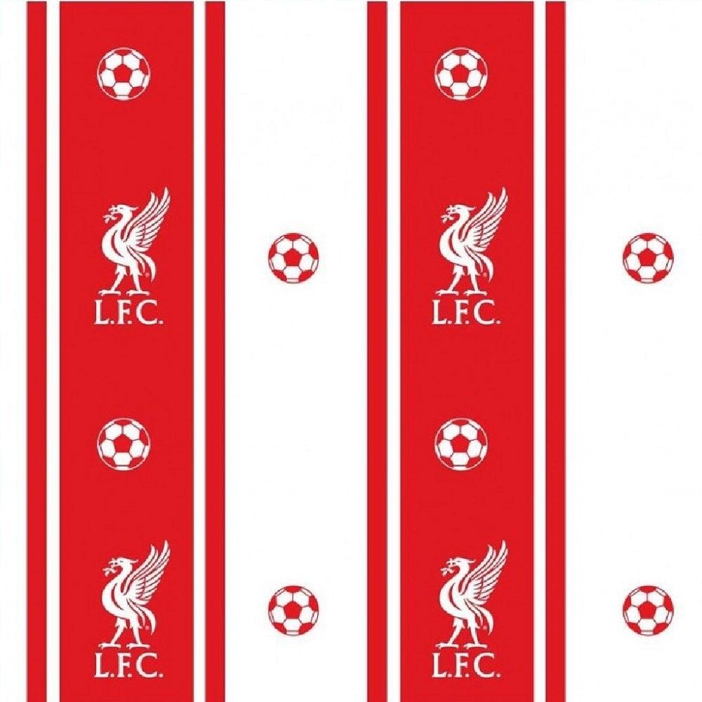 Fine Decor Liverpool Football Club Wallpaper Red White Wp40061