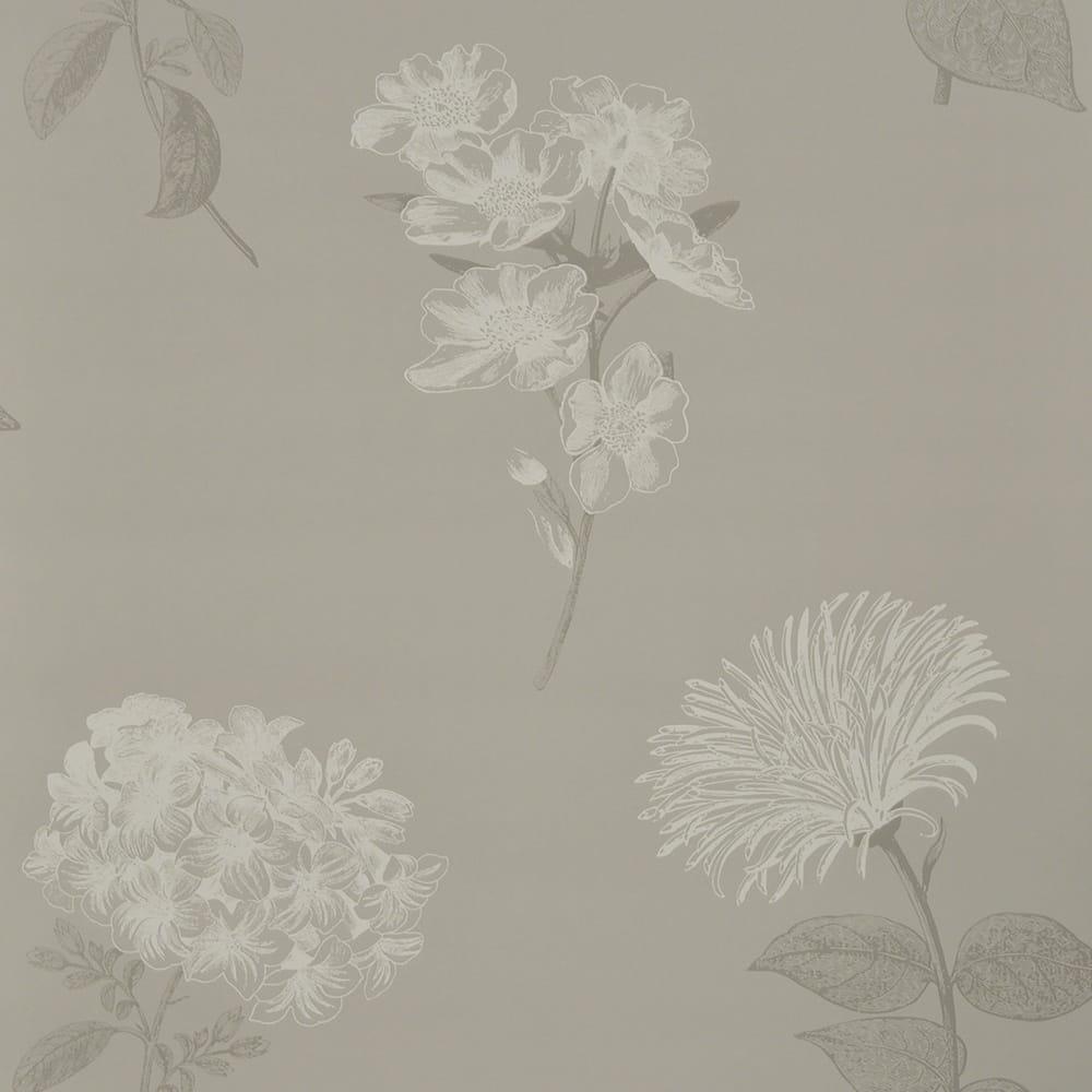 Fine Decor Hydrangea Floral Wallpaper Natural 853 161 013