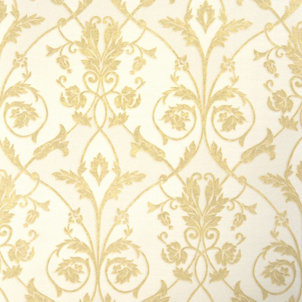 Fine Decor Milano Damask Wallpaper Gold W95537
