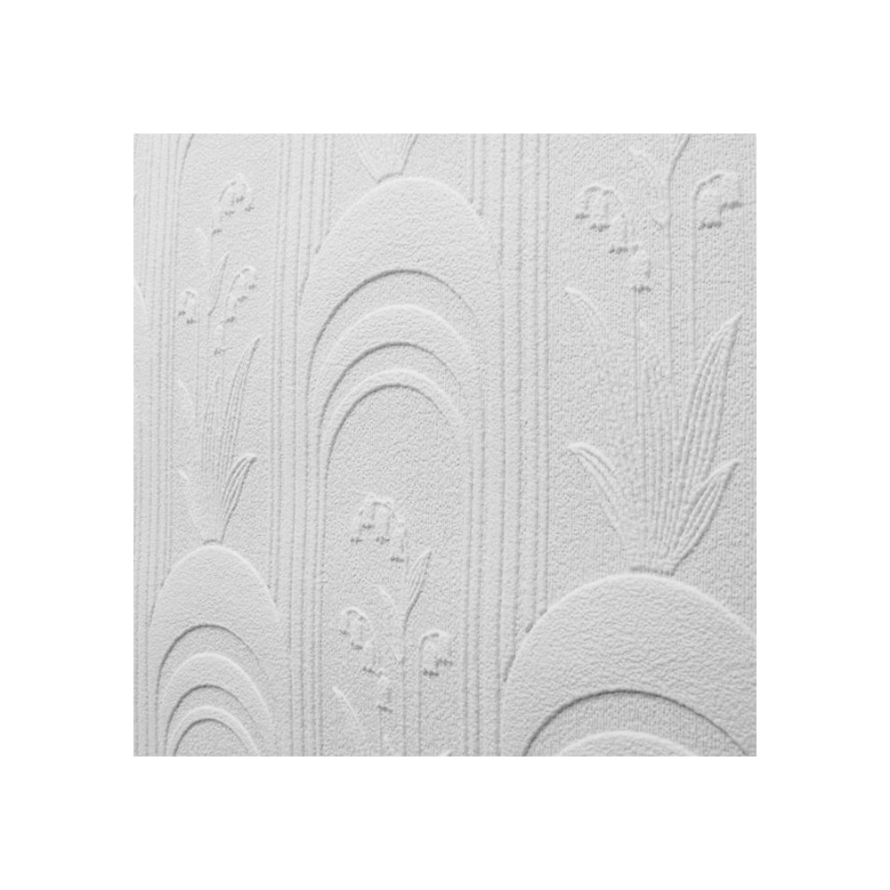 Pure Whites Paintable Textured Wallpaper White (FD30909)